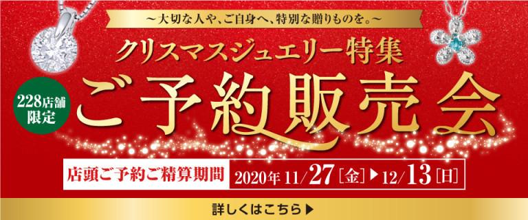 ご予約販売会 ~Christmas Jewelry collection~